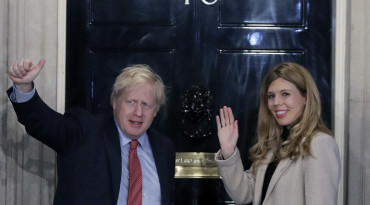 Boris Johnson, Carrie Symondsová