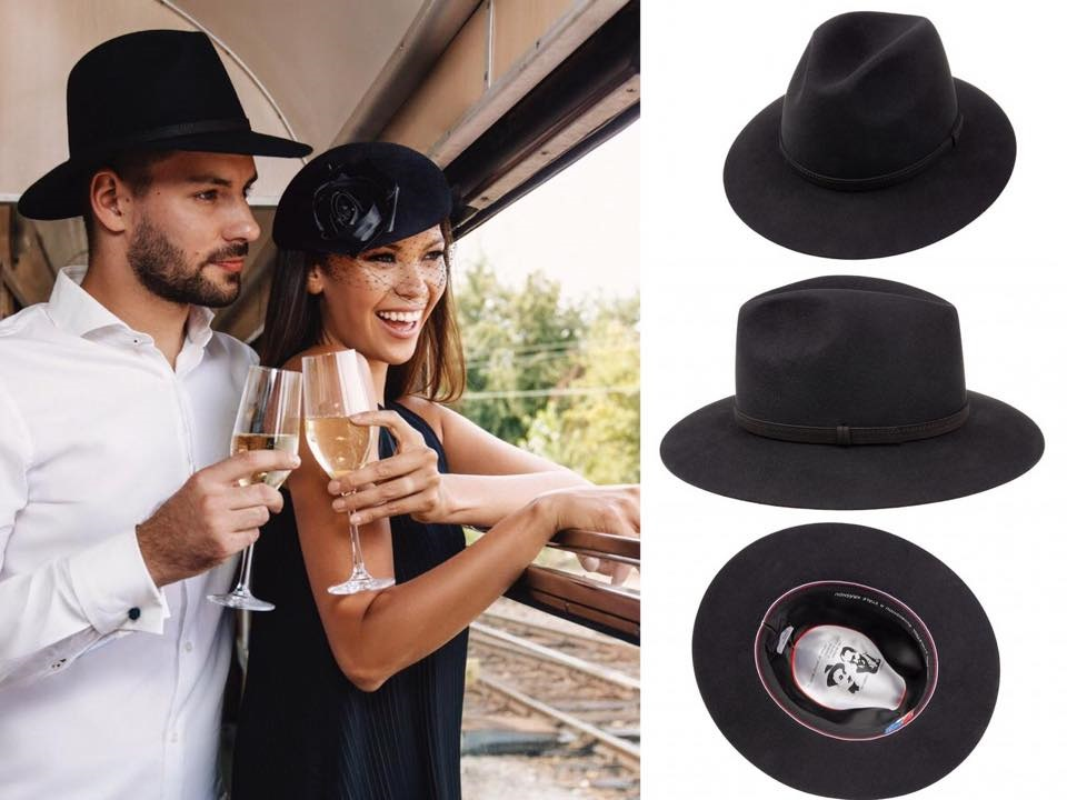01955cd6f V špeciálnej prvorepublikovej kolekcii je plstený pánsky klobúk venovaný  legendárnemu duu Voskovec -Werich. Klobúk má vo vnútri citát, ktorý by bolo  škoda ...